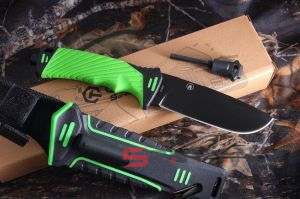 GANZO G8012 Green (Survival Knife)