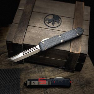 Microtech Ultratech Hellhound Tanto (119-13CF)